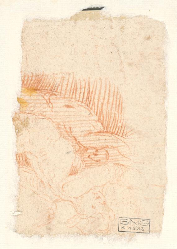 Stredoeurópsky maliar z 18. storočia – Štúdia k poprsiu anjelikov