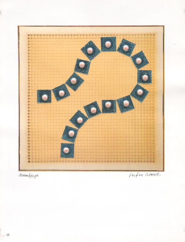 Štefan Schwartz - Dadamaino, Volume a moduli Sfacati, 1960 // ohne Titel