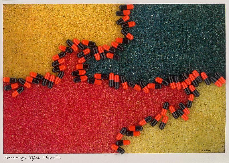 Štefan Schwartz - Serge Polliakoff, Composition Rouge Jaune et Bleu // ohne Titel