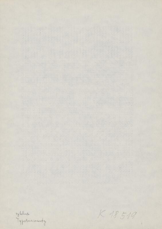 Milan Adamčiak – Z cyklu Typornament I