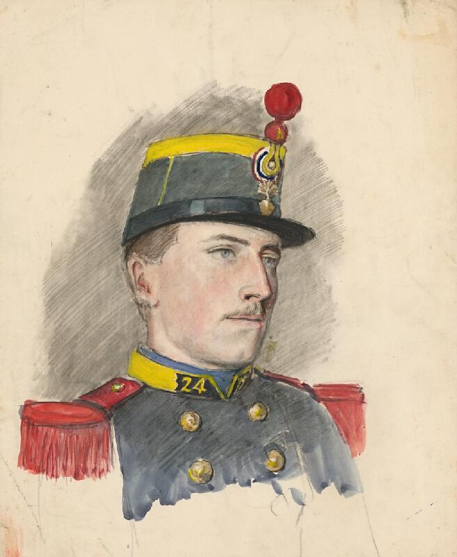 Ladislav Mednyánszky – Portrét vojaka. Figurálne štúdie