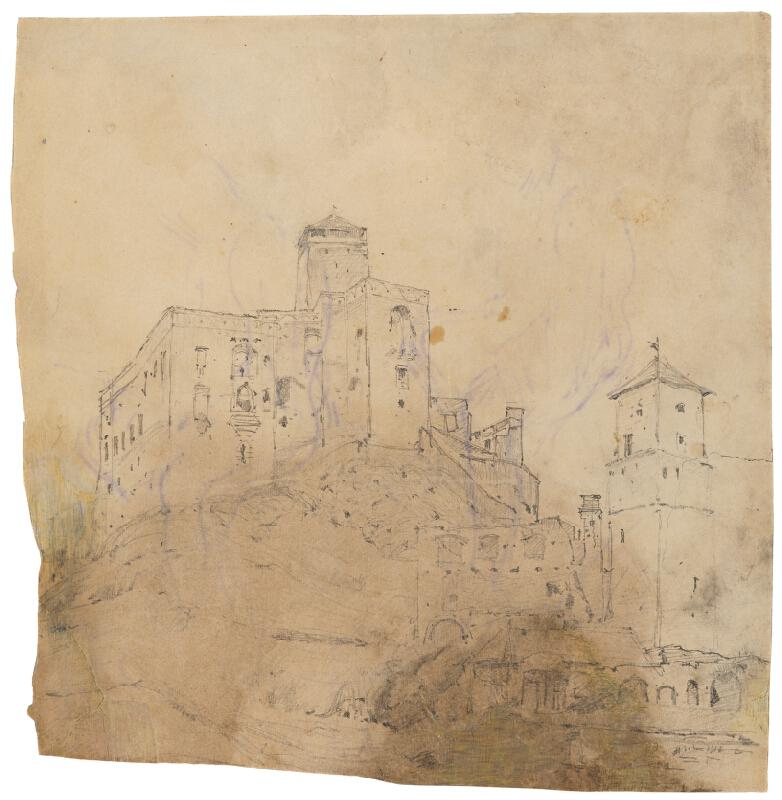 Ladislav Mednyánszky - Trenčiansky hrad
