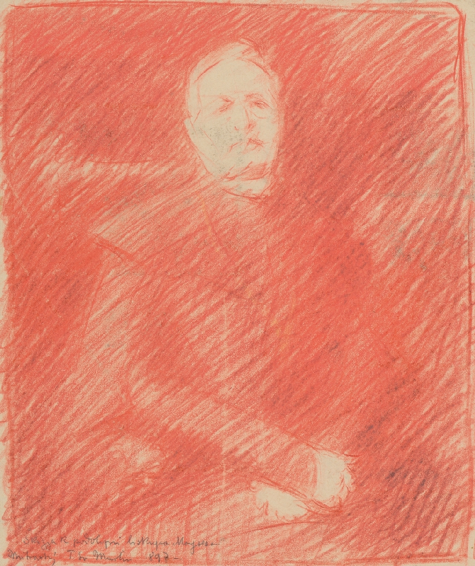 Milan Thomka Mitrovský - Skica k portrétu biskupa Moyzesa