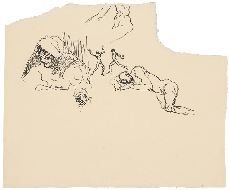 Arnold Peter Weisz-Kubínčan - Rôzne skice