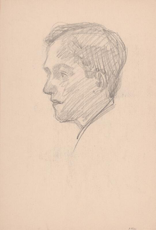 Arnold Peter Weisz-Kubínčan – Lovec a portrét muža