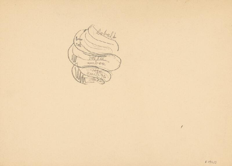 Arnold Peter Weisz-Kubínčan – Štúdia maľby - Farby