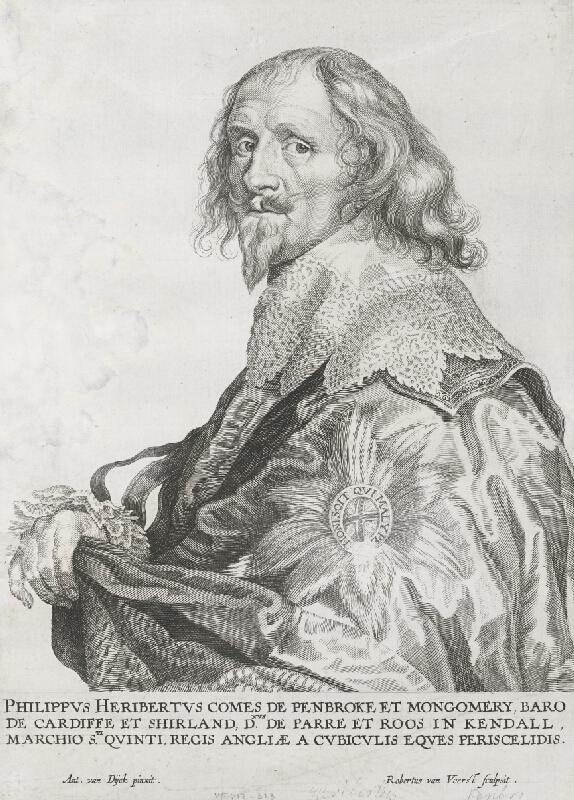 Anthony van Dyck, Robert van Voerst - Filip Herbert De Penbrokect Mongomery