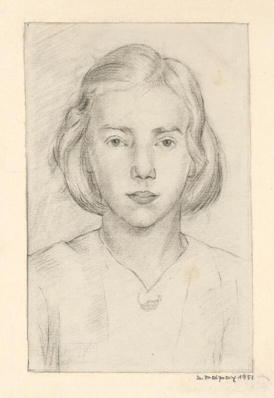 Dezider Pápay - Dievča