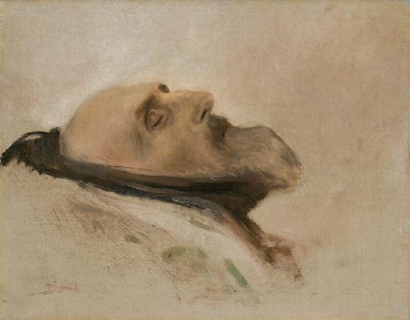 Ladislav Mednyánszky - Hlava mŕtveho otca