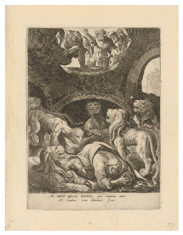 Crispijn de Passe st., Maarten de Vos st. - Daniel medzi levmi