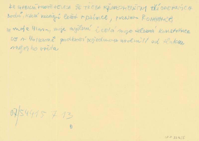 Emil Drličiak – T. Bernhard: Korektúra korektúry. Návrhy scény.