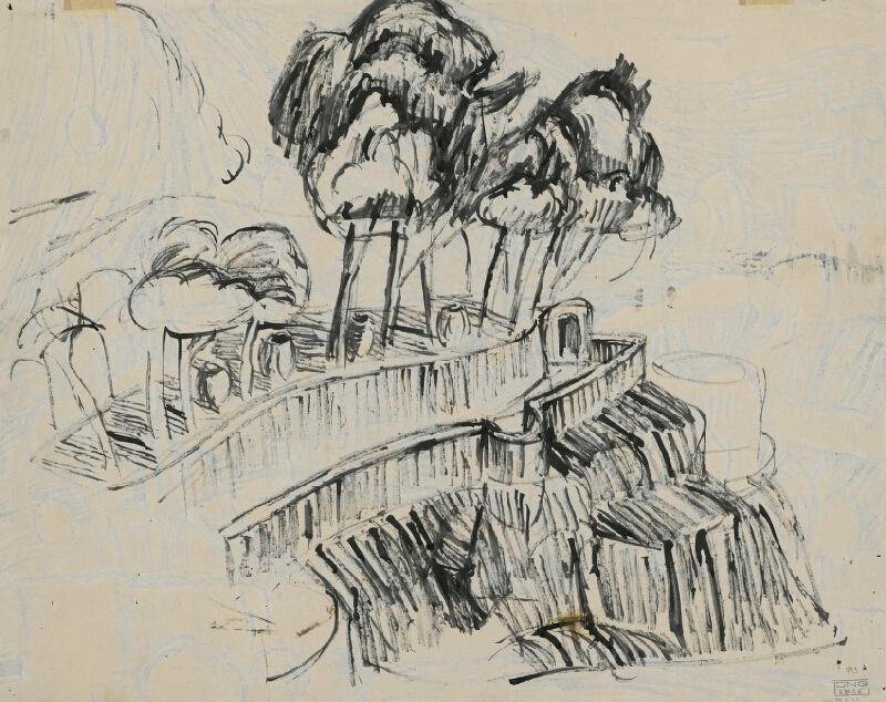 Ernest Zmeták - Krajina na Capri