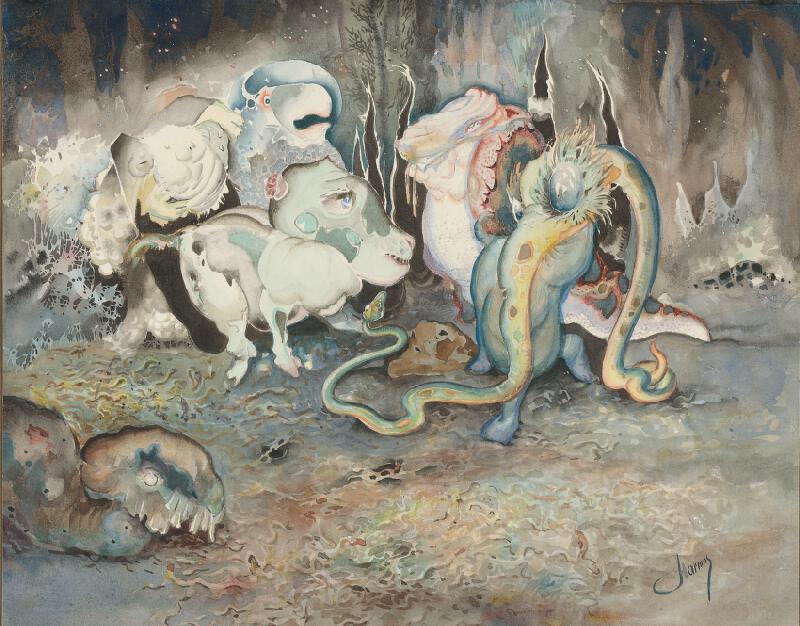 Karol Harmos – Epidémia, 1920–1930, Slovenská národná galéria