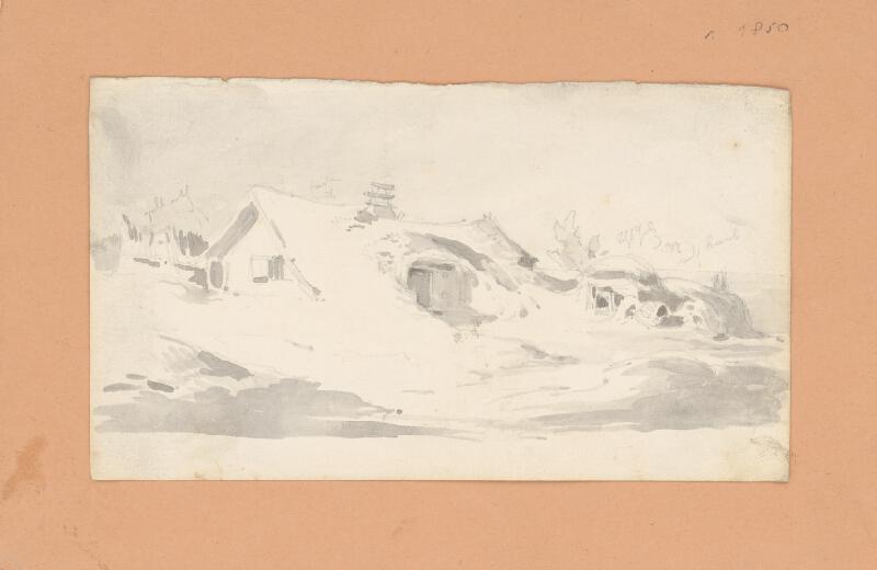 Friedrich Carl von Scheidlin - Chalupa pod snehom