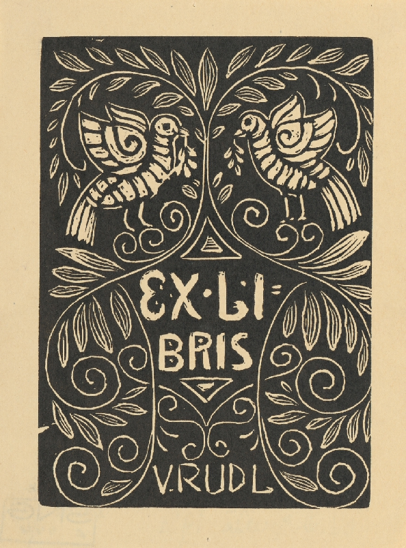M.D. Gjurič - EX LIBRIS ul.Rudla 1921