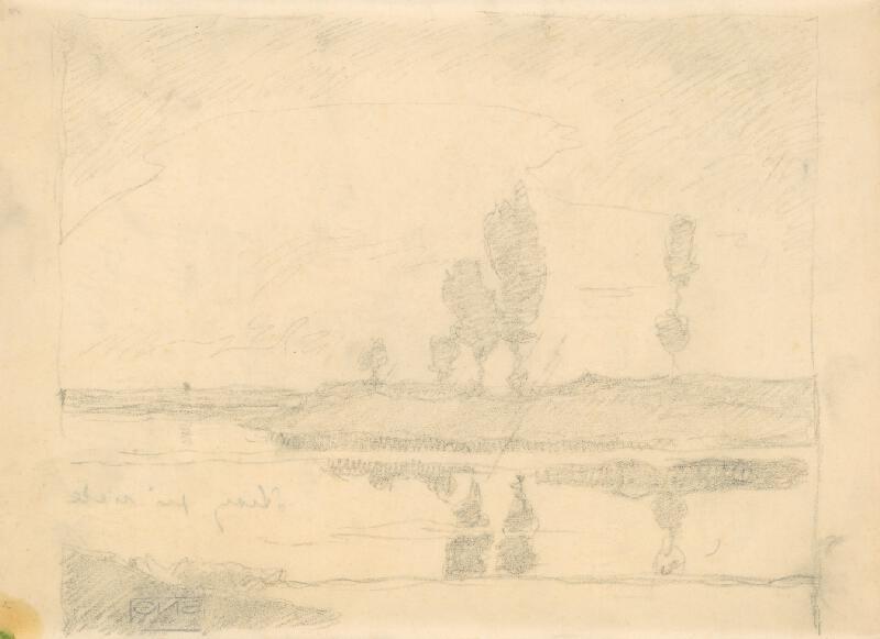 Július Koreszka - Stromy pri rieke