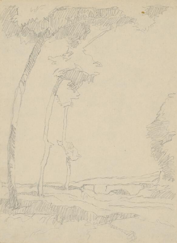 Július Koreszka - Stromy pri moste