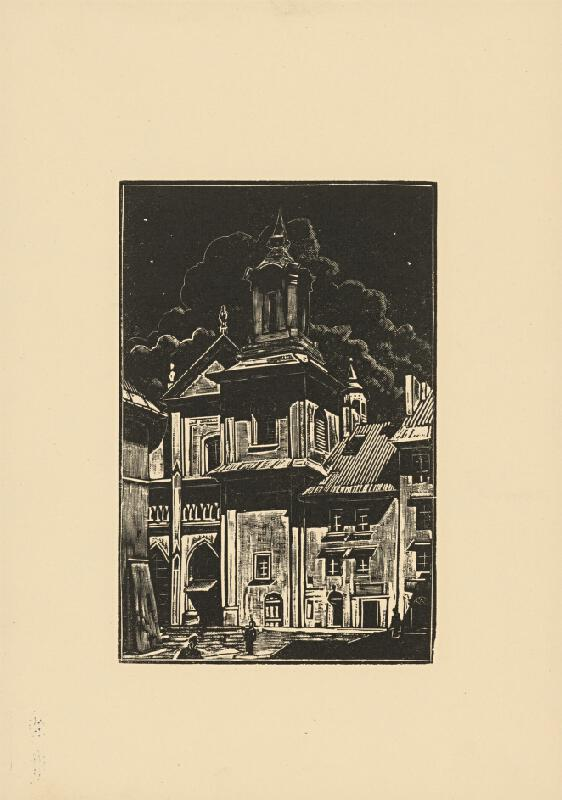Tadeusz Cieslewski - Kostol Dominikánov