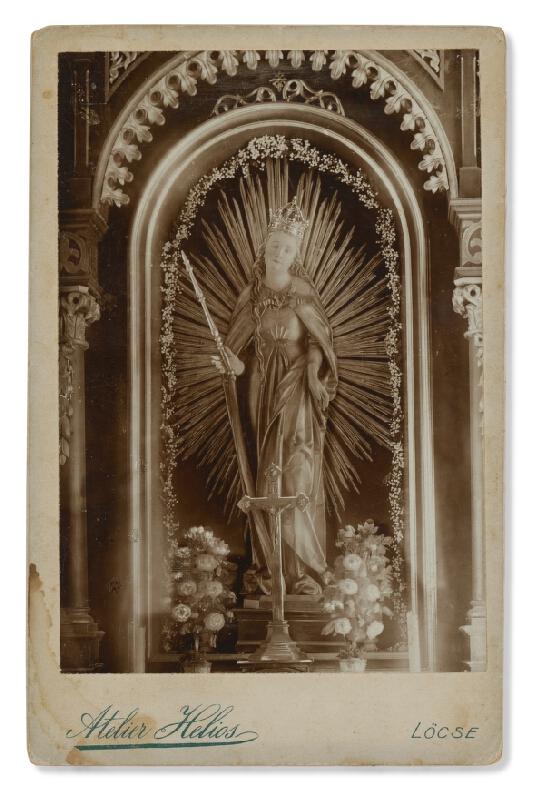 Ateliér Helios (Levoča) - Milostivá socha Panny Márie