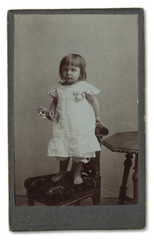 Ede Blaho – Portrét dievčatka