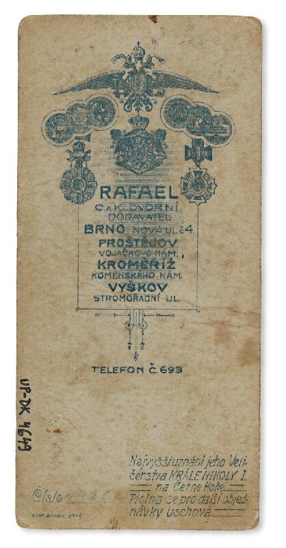 Ateliér Rafael – Portrét mladého muža