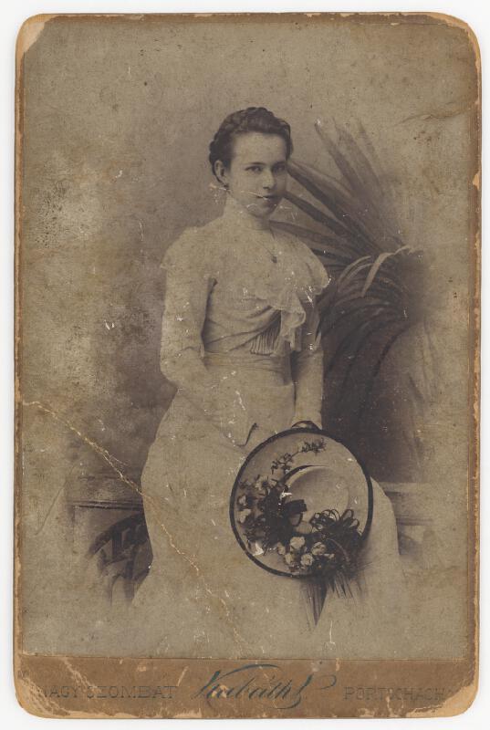 Vincent Kabáth – Portrét ženy s klobúkom