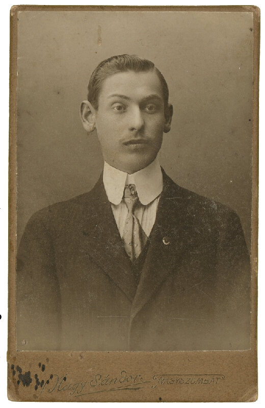 Sándor Nagy – Portrét muža