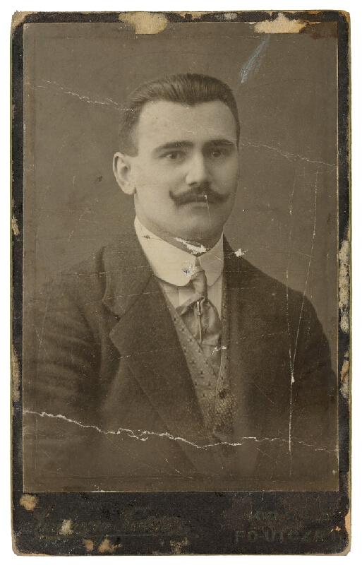 Ferencz Szamossy – Portrét muža