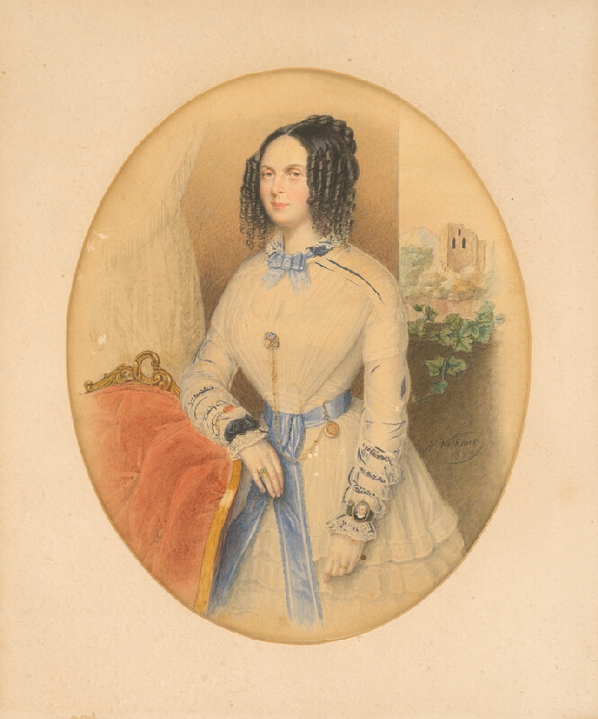 Antonín Volkmer - Portrét ženy