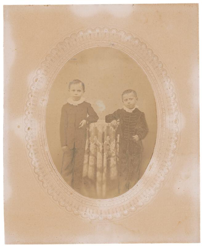 Neznámy autor – Dvojportrét chlapcov
