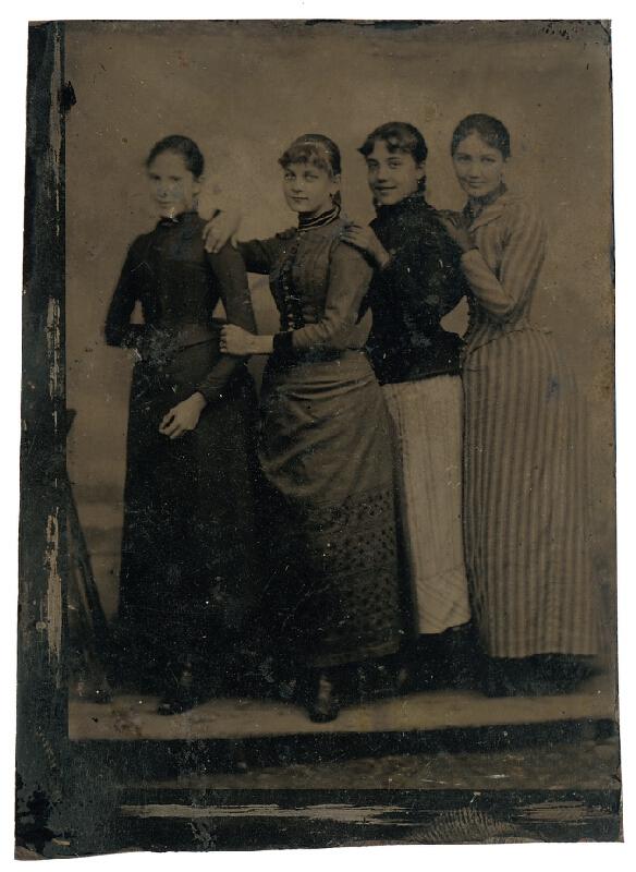 Neznámy autor - Skupinový portrét žien
