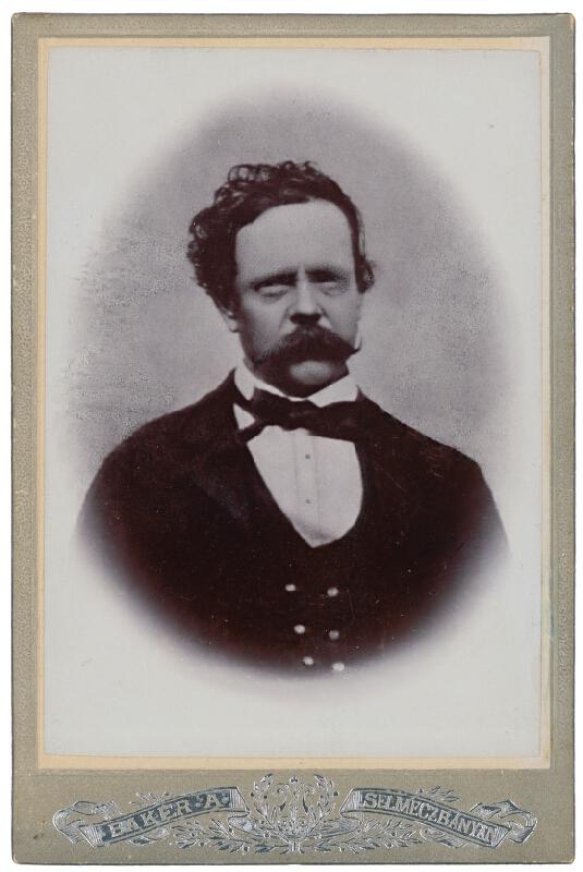 Alajos Baker - Portrét muža
