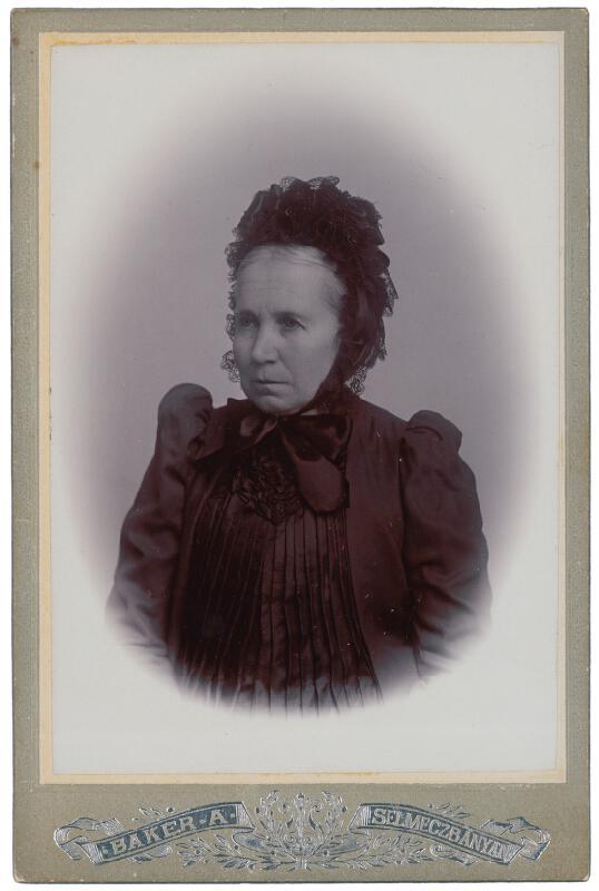 Alajos Baker – Portrét ženy