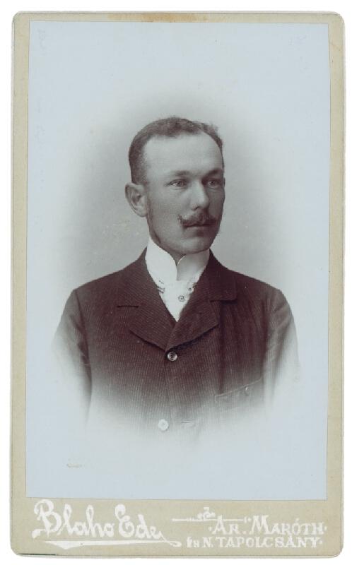 Ede Blaho - Portrét muža