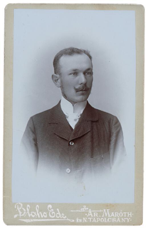 Ede Blaho – Portrét muža