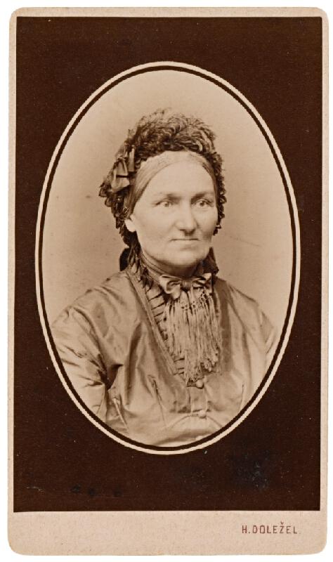 H. Doležel - Portrét staršej ženy