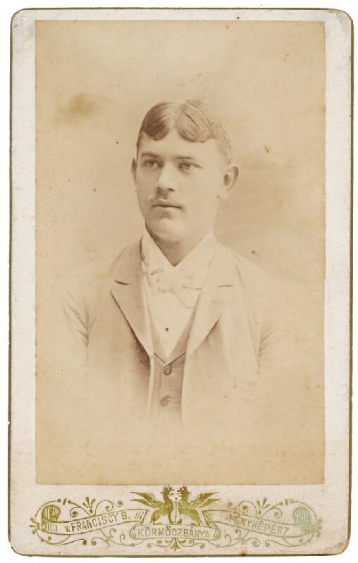 Gyula Franciscy – Portrét mladého muža