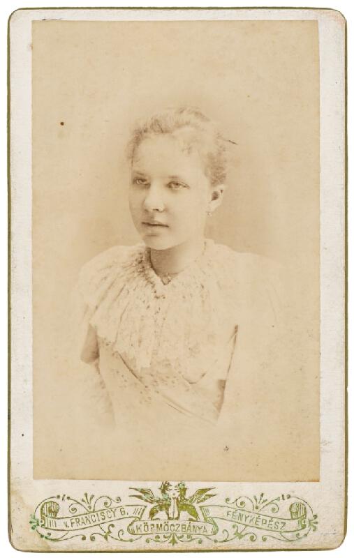 Gyula Franciscy – Portrét mladej ženy