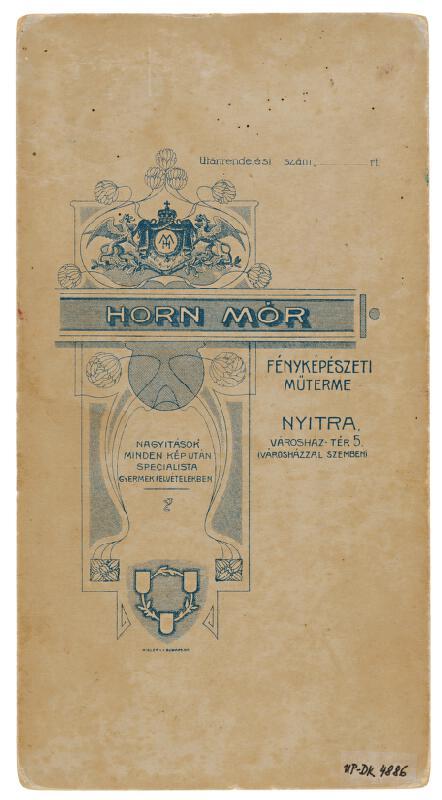 Mór Horn - Portrét  ženy