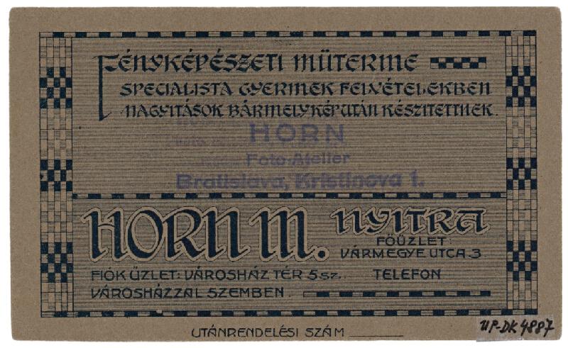 Mór Horn – Portrét ženy