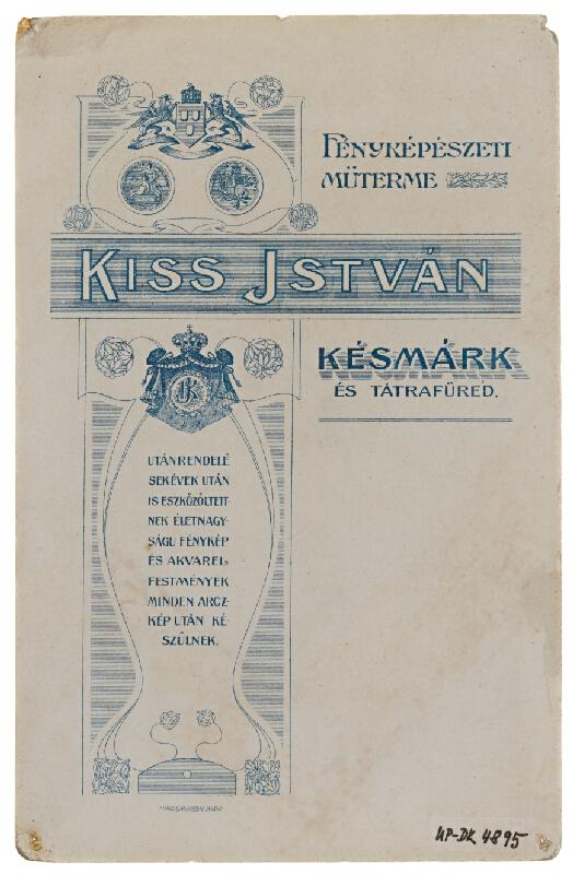 István Kiss – Portrét ženy v kroji