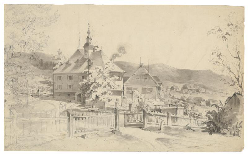 Friedrich Carl von Scheidlin - Panské sídlo v horskej dedinke