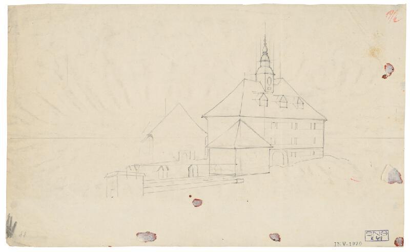 Friedrich Carl von Scheidlin - Štúdia architektúry