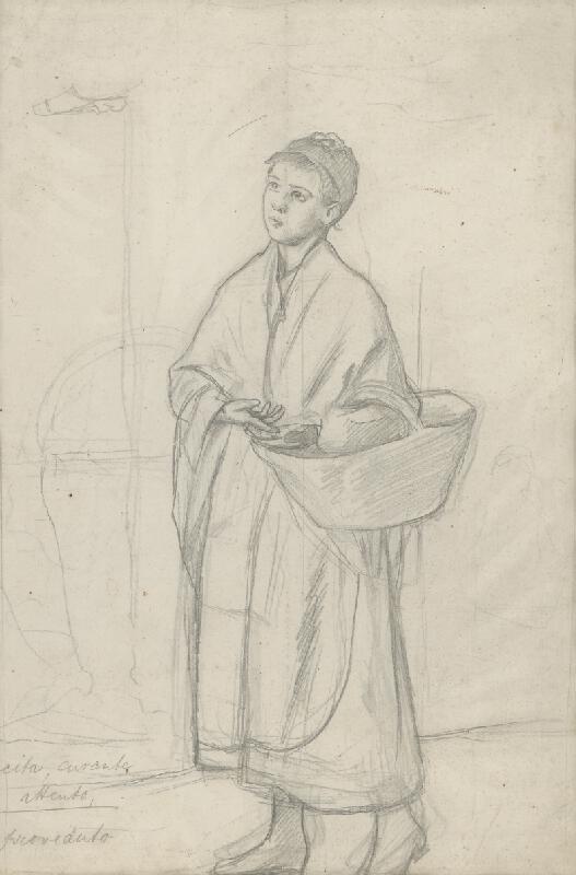 Dominik Skutecký - Benátske dievča s košíkom
