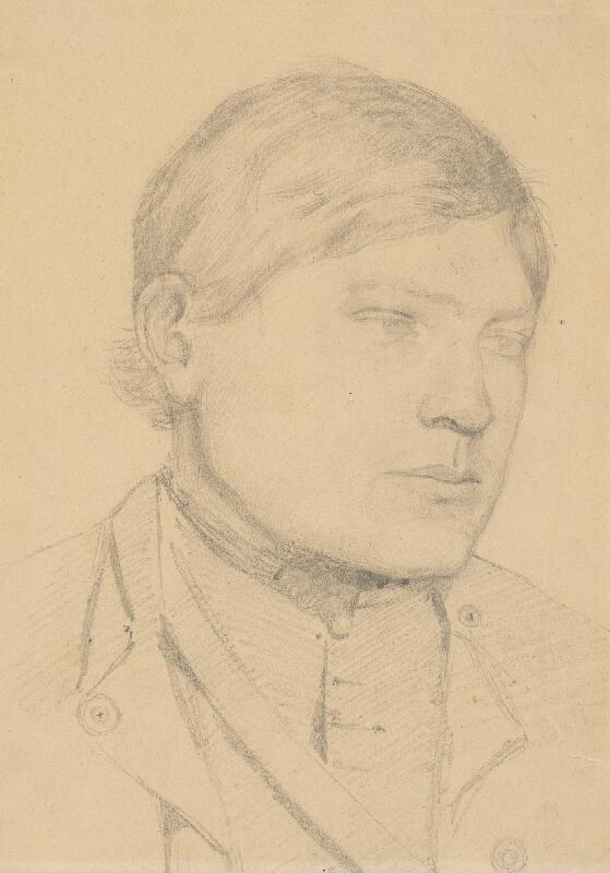 Ladislav Mednyánszky - Štúdia mládenca