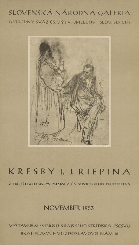 Slovenský autor - Kresby I.J.Riepina
