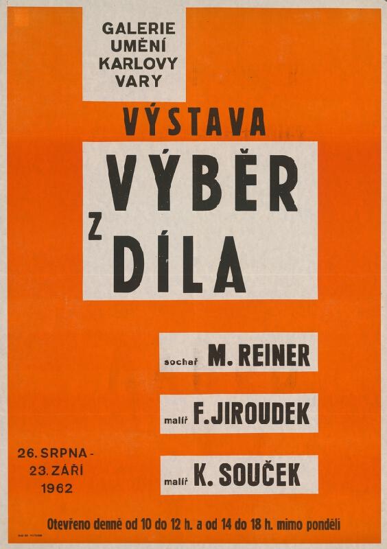 Český autor - Výber z diela - Reiner, Jiroudek, Souček
