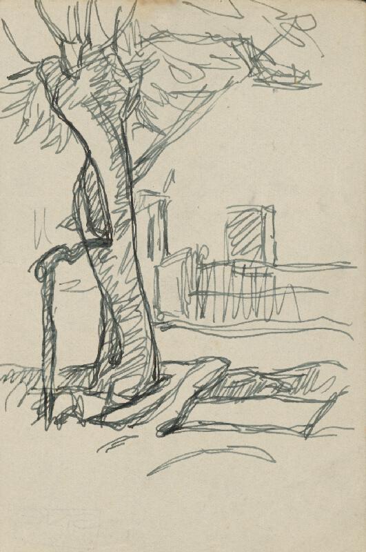 Július Koreszka - Osamelý strom