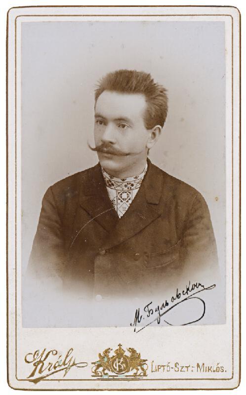Gusztáv Král – Portrét muža