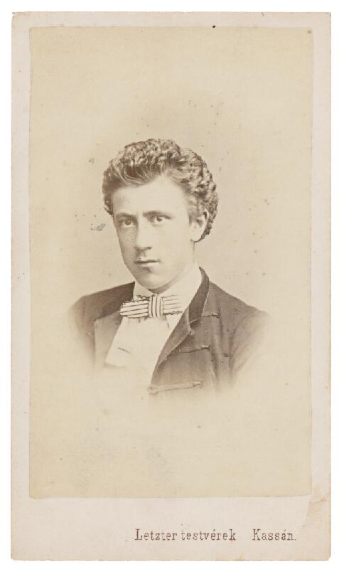 S. Letzter – Portrét mladého muža